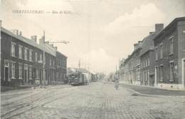 Belgique - Charleroi - Châtelineau - Rue De Gilly - Le Tram - Charleroi