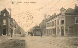 Belgique - Charleroi - Couillet - Route De Philippeville - Le Tram - Charleroi