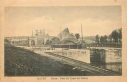 Belgique - Mons - Havré - Ecluse - Pont Du Canal Du Centre - Mons