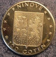4101 Vz Ninove 100 Goten – Kz Koepoort - Gemeentepenningen