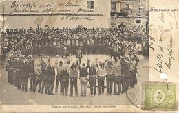 TURQUIE - Costantinople - Danse Nationale Le SERRA - Danses