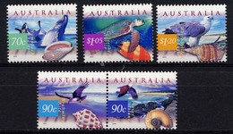 Australia, Yvert 1757/1761**, Scott 1738/1742**, SG 1858/1862**, MNH - Ongebruikt