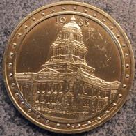 4102 Vz 1983 Justitiepaleis - Kz Brussel Onze Hoofstad 100 Michiel - Gemeentepenningen