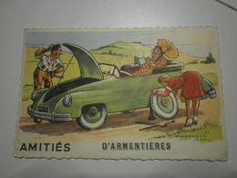 69 Armentières. Illustrateur Jean Chaperon. Amitiés D'Armentières (8661) - Armentieres