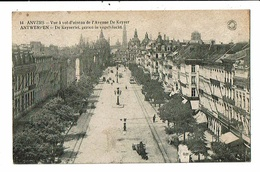 CPA-Carte Postale-Belgique- Antwerpen-Vue à Vol D'oiseau De L'Avenue  De Keyser 1920-VM13620 - Antwerpen