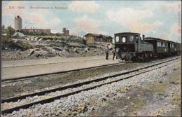 AK Der Harz Brockenhaus Und Bahnhof, Gelaufen 1906 - Wernigerode