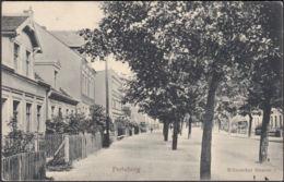 AK Perleberg Wilsnacker Straße Bahnpost, Gelaufen 1913 - Perleberg