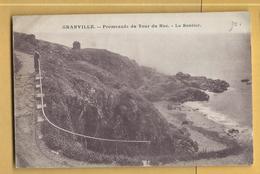 C.P.A. GRANVILLE - Promenade Du Tour Du Roc - Granville