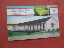 Beck's Cottage Court North Carolina > Fayetteville > Ref 3921 - Fayetteville
