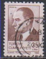 TURQUIE - Timbre N°2355 Oblitéré - 1921-... Republiek