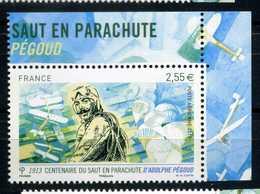 FRANCE PA N° 76a  Centenaire Du Saut En Parachute D'Adolphe PEGOUD NEUF ** - Poste Aérienne
