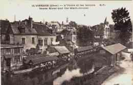 CPA VIERZON - CHER - LES LAVOIRS SUR L'YEVRE - Vierzon