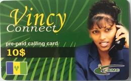 St. VINCENT § LES GRENADINES  -  Prepaid - CBMC - Vincy Connect - 10$ - St. Vincent & The Grenadines
