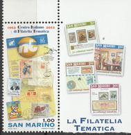 PIA- SAN MAR- 2013 : 50° Anniversario Della Fondazione Del CIFT - Centro Italiano Di Filatelia Tematica - (SAS 2410) - Altri