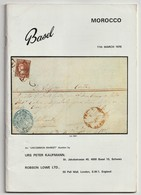 MOROCCO, Spanish, British, German & Italian Post Offices, Robson Lowe Auction Catalogue 1970 - Cataloghi Di Case D'aste