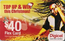 CARAÏBES  -  Prepaid  - Digicel - TOP UP § WIN This Christmas ! - $40 - Altri – America