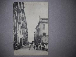 "Sartène , Corse . Rue Sainte Anne . Carte "" La Cigogne "" . Place Des Palmiers Ajaccio .2 Photos - Sartene"