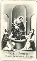 Lotto N. 2 Santini N. S. Di Pompei Regina Del Rosario Foto (1233-1234) - Images Religieuses