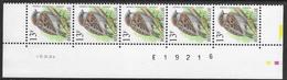 Buzin. 2533xx Huismus/Moineau Domestique. Datumstrook 10/11/94 Bande Datée. Diepdrukplaat Nr E19216 - Paar/pair - 1985-.. Birds (Buzin)