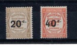 France 1917 Taxes Neufs Sans Charnière N°49 Et 50 - 1859-1955 Mint/hinged