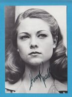 THERESA RUSSELL Original Signed Glossy Photo AUTOGRAPHE / AUTOGRAMM  10/15 Cm - Autographes