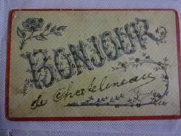 CP.Bonjour.Chatelineau.Paillettes - Fancy Cards