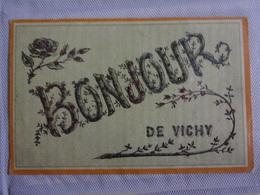 CP.Bonjour.Vichy.Paillettes - Fancy Cards