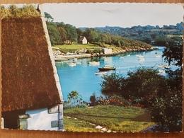 Le Port De Kerdruc.pont-aven.semi Moderne Grand Format - Névez
