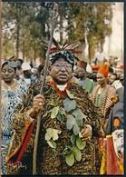 °°° 19034 - CAMERUN CAMEROUN - FOUMBAN - SA MAJESTE , EL HADJ SEIDOU NJIMOLUH °°° - Camerun