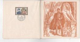 PREMIER JOUR  SIEGE DE BELFORT 1870-1871  COLONEL DENFERT-ROCHEREAU  258 SUR 2000 EXEMPLAIRES - FDC