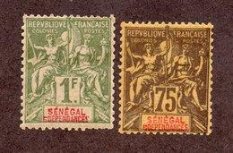 Sénégal  N°19,20 N* TB Cote 60 Euros !!! - Unused Stamps