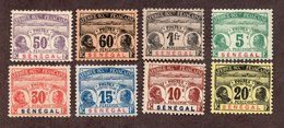 Sénégal  Taxes N°4/11 N*  (le 11 **) TB Cote 153 Euros !!! - Strafport