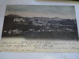 CASCIAGO  E SACRO MONTE Di VARESE  1908 Pour La FRANCE  THONON - Varese