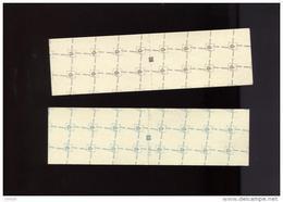 Belgie 1973 B12/B13 Carnet 12 & 13 Boudewijn Elstrom MNH + TELBLOK - Carnets 1953-....