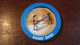 LUCKY LUKE PENDULE  A BORD BLEU - Lucky Luke