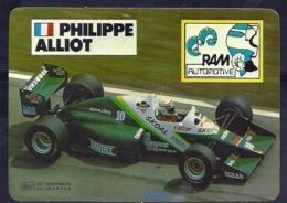 1986 Pocket Poche Calendar Calandrier Calendario Portugal Formula 1 RAM Philippe Alliot - Small : 1981-90