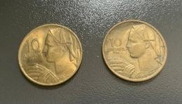 JUGOSLAVIA - 1955 E 1966 - 2 Monete 10 PARA - Joegoslavië