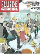 FLUIDE GLACIAL  N° 466   Couverture  POCHEL - Fluide Glacial