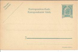 Ganzsache Neu ** - 1850-1918 Imperium