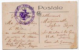 CACHET 16° Bon  TERRITORIAL DU 2° GENIE   LE CAPITAINE  SUR  CARTE DE MONTE CARLO - Postmark Collection (Covers)