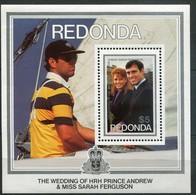 Redonda Mi# Block 35 Postfrisch MNH - Prince Andrew - Antigua Und Barbuda (1981-...)