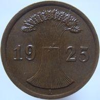 LaZooRo: Germany 2 Pfennig 1925 A XF / UNC - 2 Rentenpfennig & 2 Reichspfennig