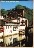 X64452 Saint St JEAN PIED De PORT Euskadi Vieilles Maisons Pont ESPAGNE Chateau NIVE Pyrénées Pays Basque LAVIELLE - Saint Jean Pied De Port