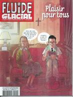 FLUIDE GLACIAL  N° 490  Couverture  JAMES & RAVARD - Fluide Glacial