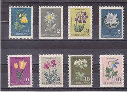 BULGARIE 1963 FLEURS Yvert 1208-1215 NEUF** MNH - Bulgarie
