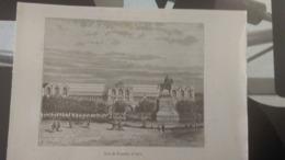 Affiche (illustration) - Gare De Perrache à LYON - Affiches