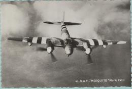 """CPM:  Avion Militaire Français:  R.A.F. De Havilland   """"MOSQUITO""""  Mark XVIII.     (F331) - 1939-1945: 2ème Guerre"""