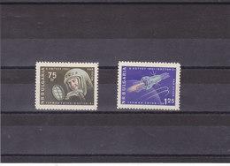 BULGARIE 1961 ESPACE TITOV Yvert PA 83-84 NEUF** MNH - Luftpost