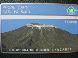 "Télécarte De Tanzanie ""kilimanjaro"" - Tansania"
