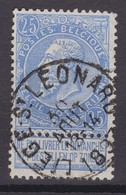 N° 60  LIEGE SAINT LEONARD - 1893-1900 Fine Barbe